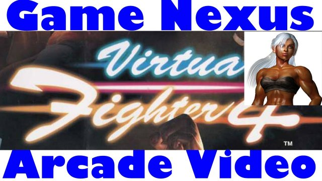 Game Nexus Arcade Video Virtua Fighter 4 Version C Vanessa Lewis Gameplay (2001 Sega Naomi 2 GD-Rom)