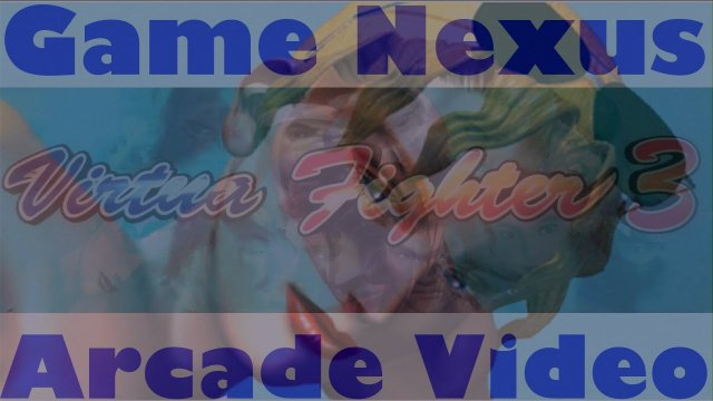 Game Nexus Arcade Video Virtua Fighter 3 Sarah Bryant (1996 Sega Model 3) Real Hardware