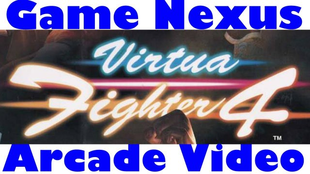 Game Nexus Arcade Video Virtua Fighter 4 Version C (2001 Sega Naomi GD-Rom) Real Hardware