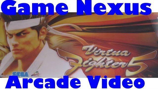 Game Nexus Arcade Video Virtua Fighter 5 Ver B Pai Chan Gameplay (2006 Sega Lindbergh Yellow)